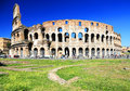 Colosseum in rome italy europe Stock Image