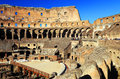 Colosseum in rome italy europe Royalty Free Stock Photo
