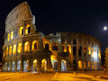 The Colosseum, Rome.  Night view Stock Images
