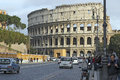 Colosseum rome the originally the amphitheatrum flavium is an elliptical amphitheatre in the centre of the city of italy the Royalty Free Stock Photo