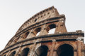 Colosseum at sunrise in Rome, Italy Royalty Free Stock Photo