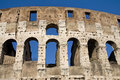 The Colosseum, the world famous landmark in Rome Stock Image