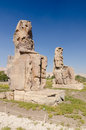 The Colossi of Memnon, Egypt Royalty Free Stock Image
