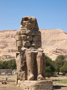 Colossi of memnon in luxor egypt Royalty Free Stock Photos