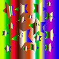 Colour Burst Background Royalty Free Stock Photo