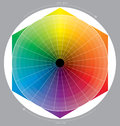 Colour circle Royalty Free Stock Photo