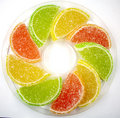 Colour fruit candy Royalty Free Stock Image