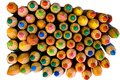 Colour full pencils Royalty Free Stock Images