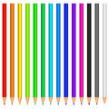 Colour pencils. Stock Photo