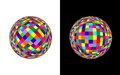 Coloured ball - cdr format Royalty Free Stock Photo
