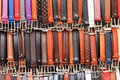 Coloured belts background Royalty Free Stock Photo