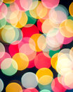 Coloured bokeh background Stock Photos