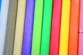 Coloured chalks Royalty Free Stock Photo