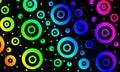 Coloured circles Royalty Free Stock Photo