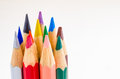 Coloured Crayons Royalty Free Stock Photo