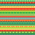 Coloured ethnic pattern background with motifs Royalty Free Stock Photography