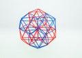 Coloured Handmade Dimensional Model Of Geometric Solid