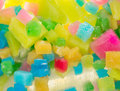 Coloured Ice Squares Royalty Free Stock Photo
