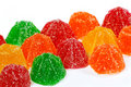 Coloured jelly sweets Stock Image