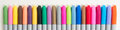 Coloured Markers Royalty Free Stock Photo