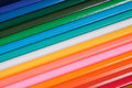Coloured pencil background close up of an assortment of different pencils Royalty Free Stock Images