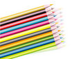 COLOURED PENCILS COLLECTION Royalty Free Stock Photography