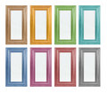 Coloured picture frame Royalty Free Stock Photo