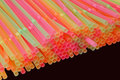 Coloured Straws Royalty Free Stock Image