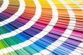 Coloured swatches book Royalty Free Stock Images