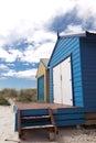 Colourful beach house Royalty Free Stock Photo