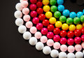 Colourful bead Royalty Free Stock Photography