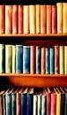 Colourful bookshelf Royalty Free Stock Photo