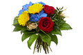 Colourful Bouquet Stock Photography
