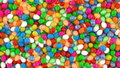 Colourful Candy Eggs Texture Stock Photos