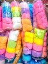 Colourful Candy Floss Or Candy...