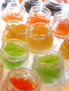 Colourful caviar Royalty Free Stock Photography