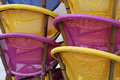 Colourful Chairs Stock Photos
