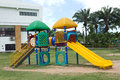 A colourful children playground Royalty Free Stock Photography