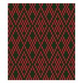 Colourful Classic Modern Argyle Seamless Print Pattern