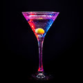 Colourful coctail Stock Images