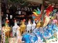 Colourful craftmanship Royalty Free Stock Photo