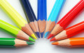 Colourful Crayons - Close-up Stock Photos