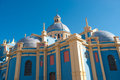 Colourful domed church, Salta, Argentina Stock Photo