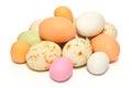 Farebný veľká noc vajcia