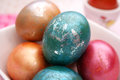 Colourful eggs Royalty Free Stock Photos