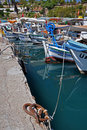 Colourful fishing boats Royalty Free Stock Photo