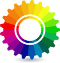Colourful gear Royalty Free Stock Photography