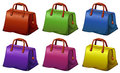 Colourful handbags Royalty Free Stock Photo