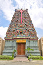 Colourful hindu temple dedicated to lord murugan in bandar sunway malaysia this has beautiful architecture and also Stock Images