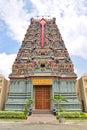 Colourful Hindu Temple dedicated to Lord Murugan
